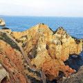 Ponta da Piedade - Treppen zu den Klippen.
