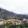 Chefchaouen - Weg vom Cp in die Medina.