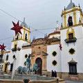 Ronda - Innenstadt mit weihnachtlicher Deko