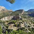 Caminito del Rey - Ausblick über das Tal