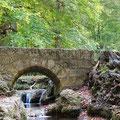 Brücke am Uracher Wasserfall