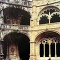 Kloster Mosteiro dos Jerónimos - vor und nach der Renovierung.