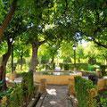 Cordoba - Gärten des Alcazar de los Reyes Cristianos