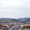 Ausblick vom Campingplatz des Hofgutes Hopfenburg.