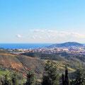 In den Bergen mit Blick auf Sebta/Ceuta.