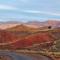 Landschaft bei Telouet.