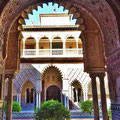 Sevilla - Real Alcázar - Innenhof