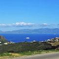 Blick auf die spanische Küste.
