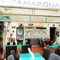 Restaurant Altstadt Saintes Maries de la Mer in der Camargue.