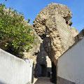 Serpa - Eingang zum archäologischen Museum.