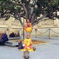 Sevilla - Straßenkünstler.
