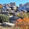 El Torcal - fantastische Steinformationen