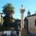 Altstadtviertel von Chaves mit altem Pelourinho (Schandpfahl).