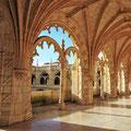 Kloster Mosteiro dos Jerónimos in Belem Lissabon.