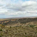 Abwechslungsreiche Landschaften entlang der A2 Richtung Madrid