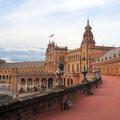 Sevilla - Placa de Espana.