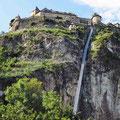 Burg Hochosterwitz in Kärnten mit modernem Aufzug