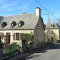 Kleines Dorf in Frankreich.