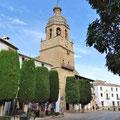 Ronda - Turm der Kirche Santa Maria La Mayor