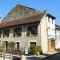 In einem Dorf an der L´Ain in Frankreich