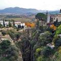 Ronda - Blick von der Puente Nuevo