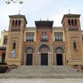 Pabellon Mudejar Museo de Artes in Sevilla.