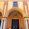 Sevilla - Gotischer Palast im Alcazar.