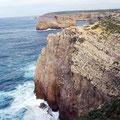 Blick auf die Küste vomRota de S. Vicente.