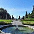 Schlosspark des Castello Miramar Triest