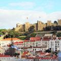 Lissabon - Altstadt und Castell.