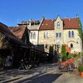 Gasthof bei Schloss Lichtenstein.
