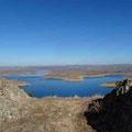 Embalse de la Serena - Aussicht vom Gipfel des Cerro Masatrigo