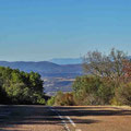 Straße bei Arroba de los Montes