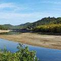 Lac de Carces - Auswirkungen der Dürre