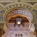 Sevilla -  maurischer PrunksaalReal Alcázar -