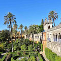 Sevilla - Real Alcázar - Gärten