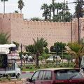 Start zu Passüberquerung in Marrakech.