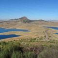 Embalse de la Serena - Aussicht vom Cerro Masatrigo