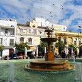 Sanlucar - Brunnen in der Altstadt