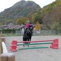 Kenza et Ushuaia, parcours du galop 3