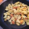 Gleich fertig: Bratkartoffel aus neuer Ernte