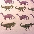 恐竜消しゴムハンコ