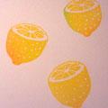 レモン消しゴムハンコ