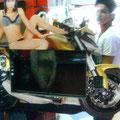 Rockola Moto con chica 13
