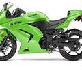 Rockola con estilo moto verde 14