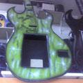 Rockola guitarra verde 99