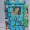 Rockola con estilo castillo azul 33