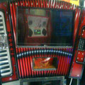 Rockola acordion rojo 27
