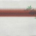 野ぶどうペア02(左)  2枚並べるとひとつの絵になります。