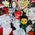 #memories, 180 x 160 cm, Acryl auf Leinwand